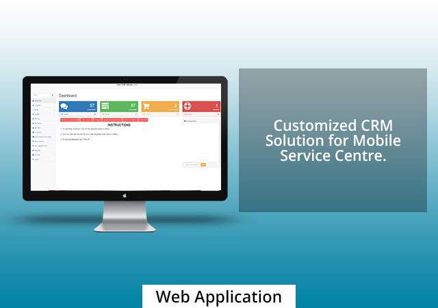 Customized CRM Solution